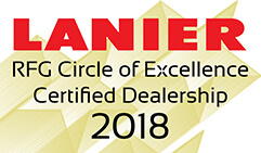 Lanier RFG Circle of Excellence Certified Dealership 2018
